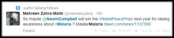 naomi malaria