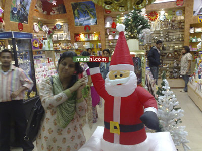 Abhirupa (me) and my friend Santa
